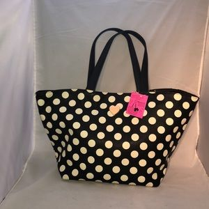Betsey Johnson Large Tote with Removable Clutch